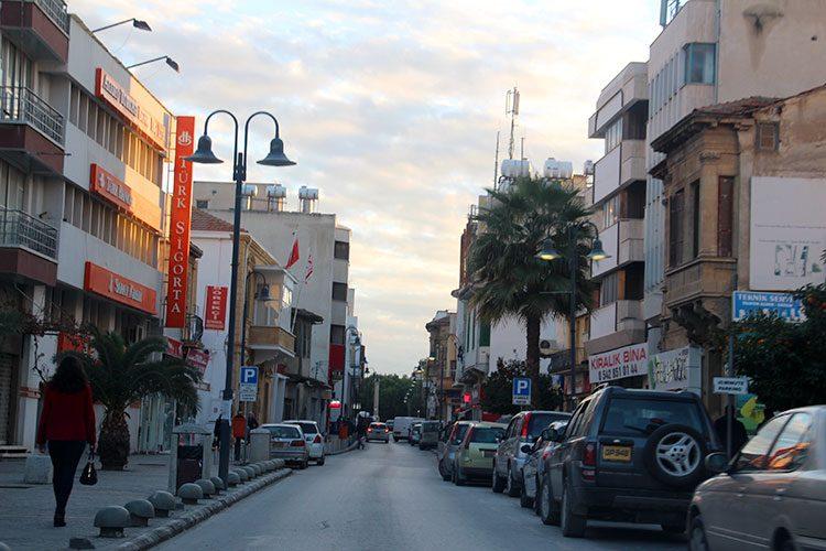 Узкие улицы в городах ТРСК