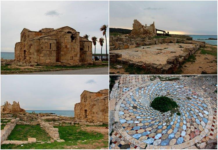 Руины монастыря Св. Филона