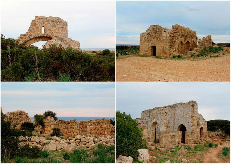 Руины города Афентрика