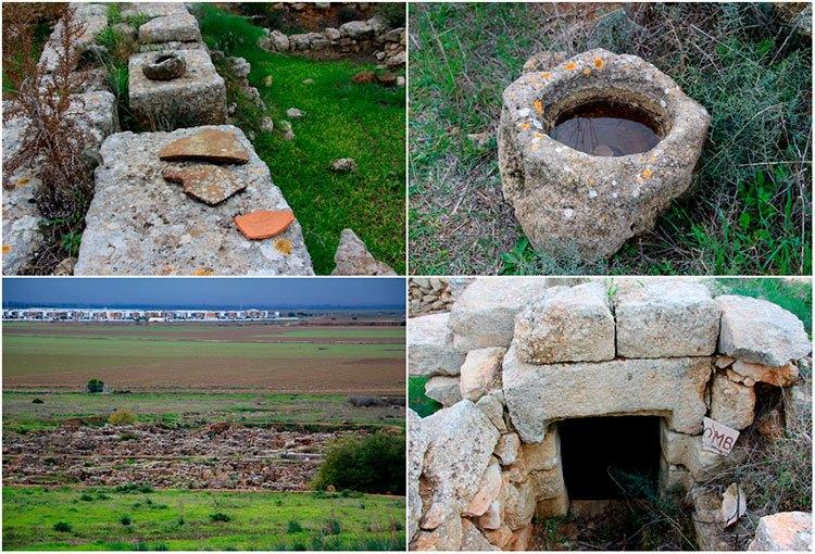 Руины древнего города Энгоми