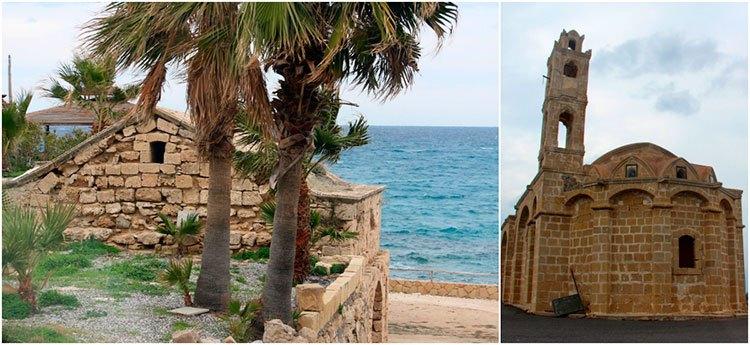 Старая и новая церкви Святого Тирсоса