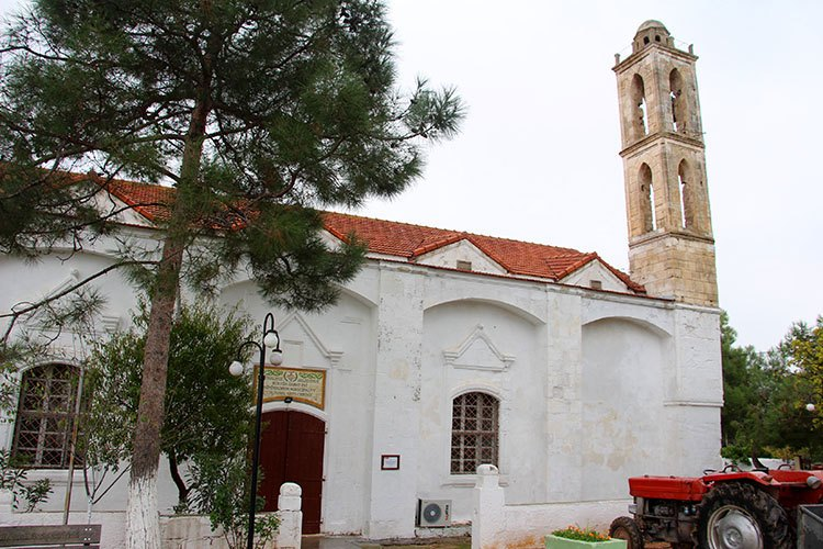 Церковь в пос. Буюкконук