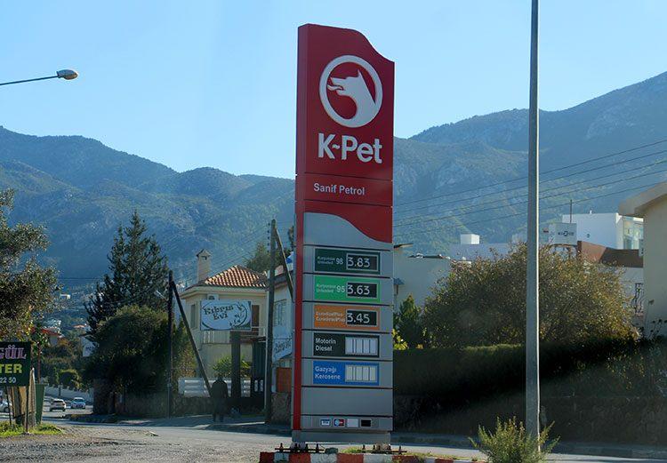 Цены на топливо Северный Кипр
