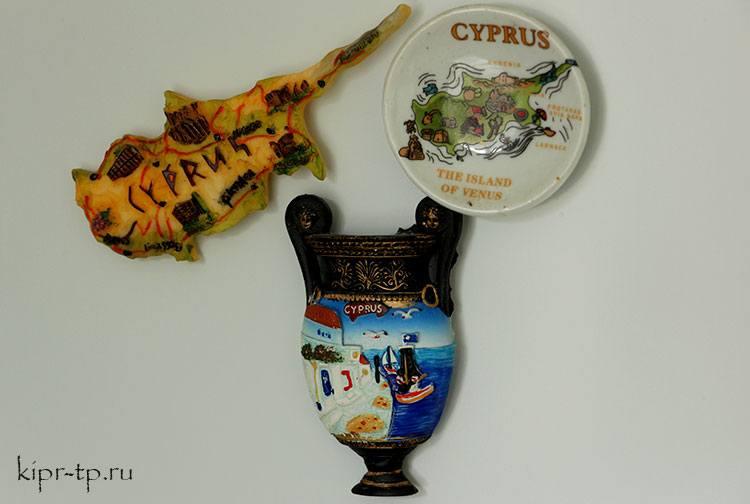 Цены на Кипре на сувениры
