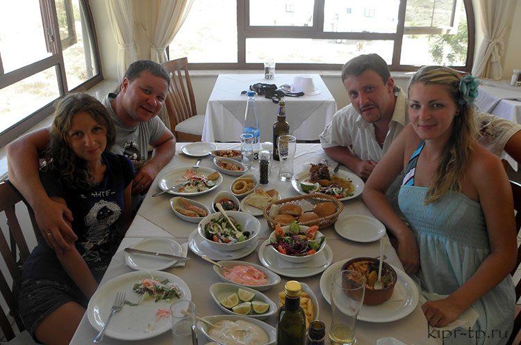 Цены на еду на Кипре