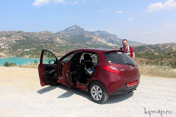 На машине на Северный Кипр
