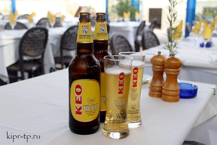 Кипрское пиво Кео