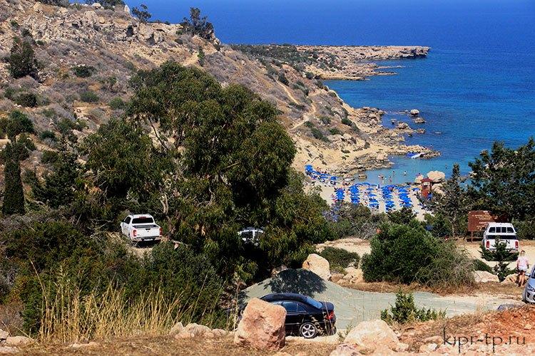 Пляж Коннос Протарас