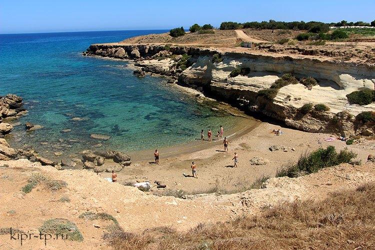 Пляж Каппарис дикий
