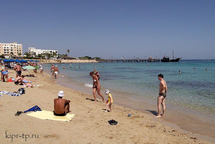 Пляжи Протараса для детей
