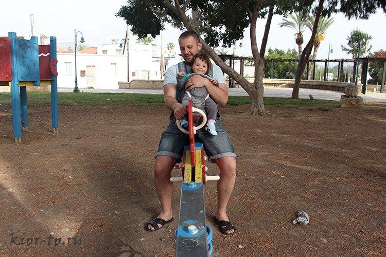 Детские площадки на Кипре
