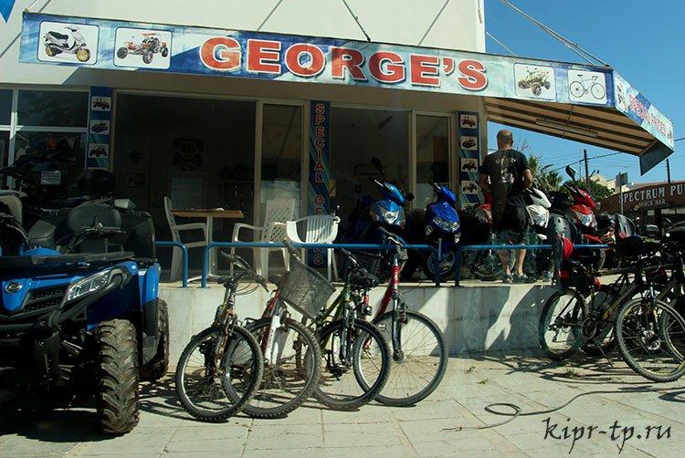 Цены в Протарасе на аренду скутеров, багги, велосипедов, квадроциклов