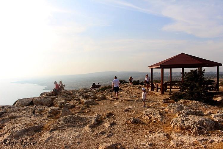Смотровая площадка на мысе Греко