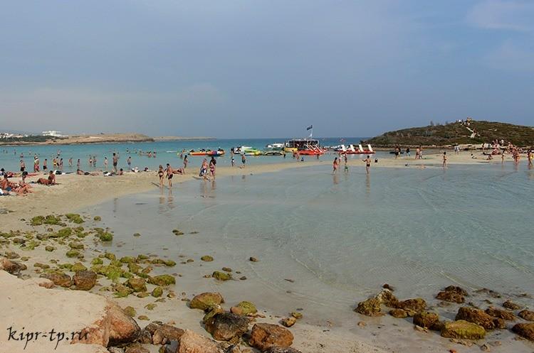 Пляж Нисси (Nissi Beach)