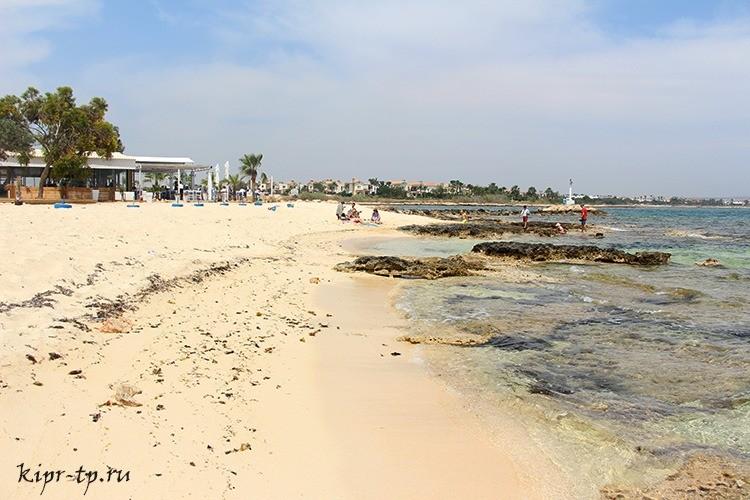 Пляж Лиопетри (Liopetri Beach)