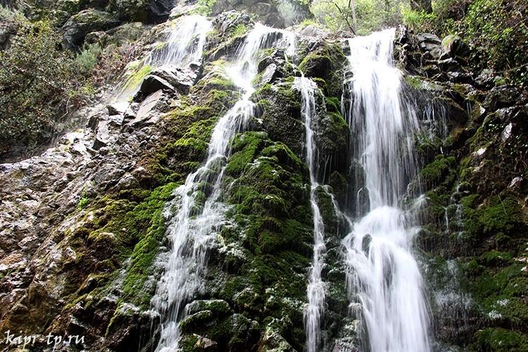 Водопад Кантара, Кипр