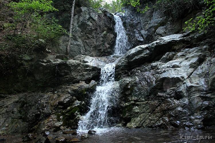 Водопад Месапотамос, Кипр