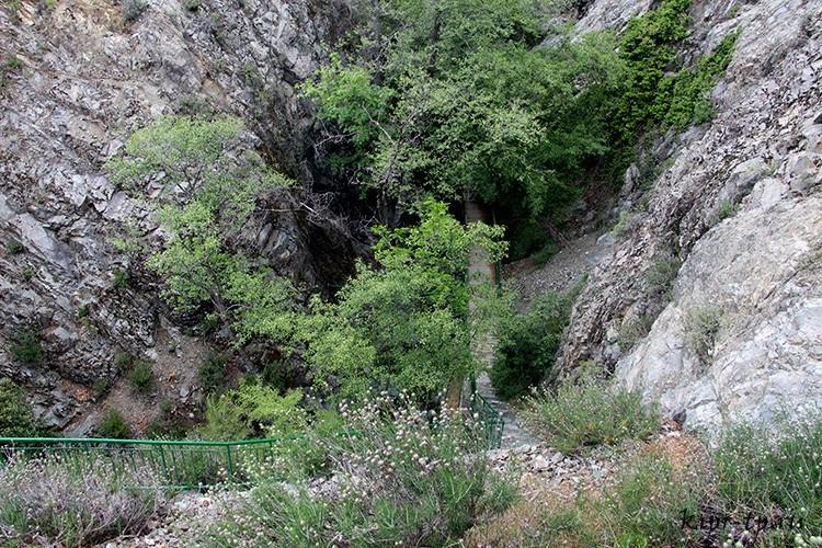 Дорога на водопад Милломерис