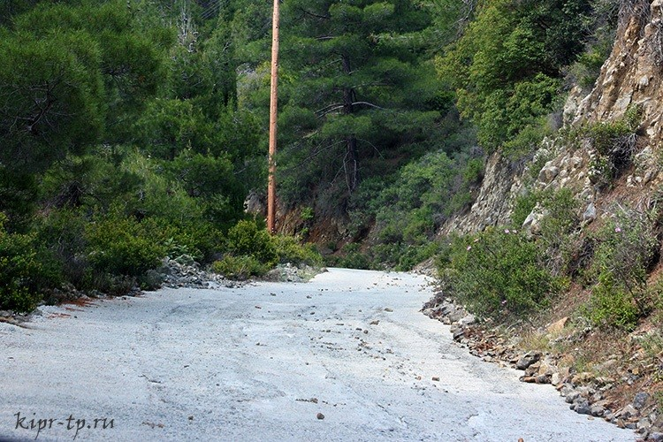 Дорога на водопад Кантара
