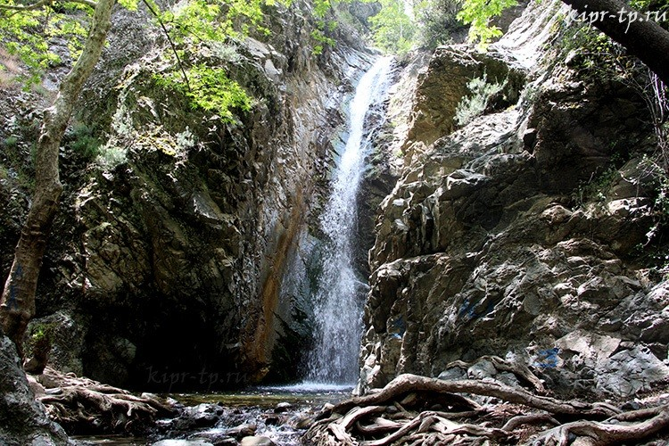 Водопад Милломерис фото