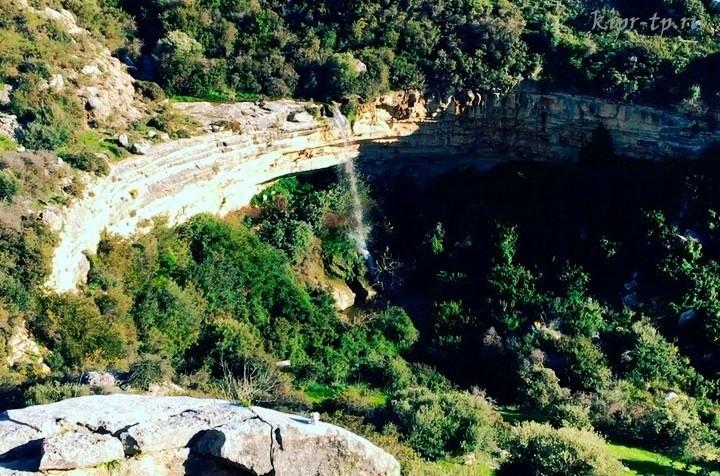 Водопады Кипра, как добраться