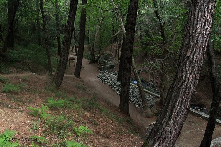 Водопад Месапотамос: фото, карта, как добраться