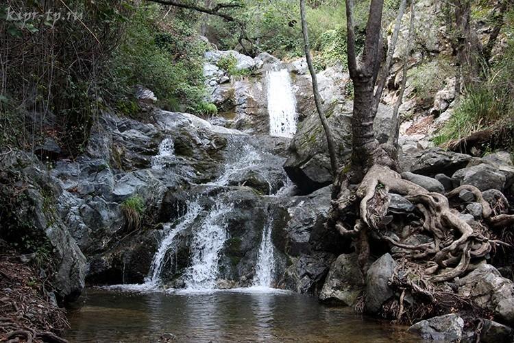 Водопад Кантара: карта