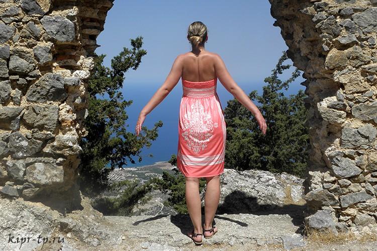 Замок Буффавенто – самая труднодоступная крепость Северного Кипра
