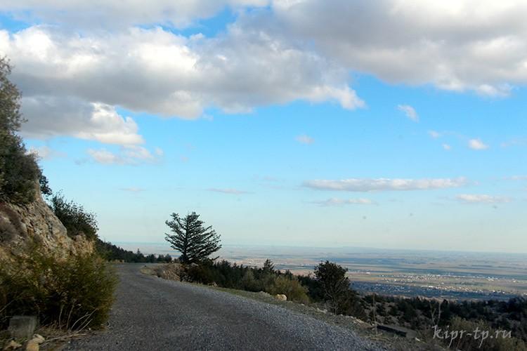 Дорога в замок Буффавенто