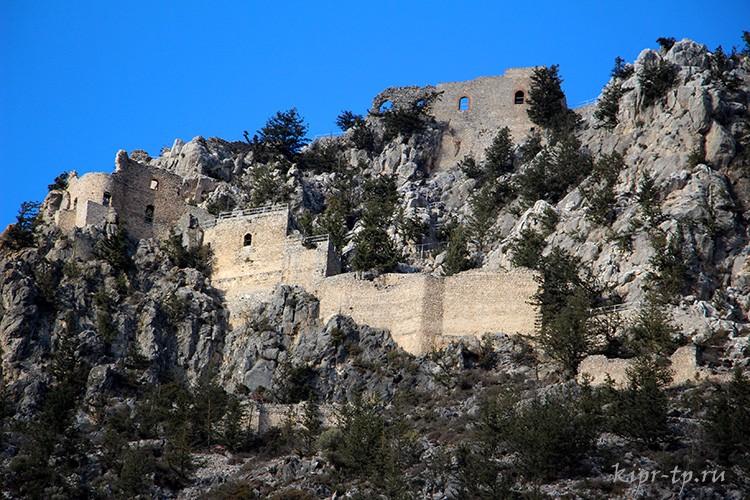 Крепость Буффавенто, Северный Кипр