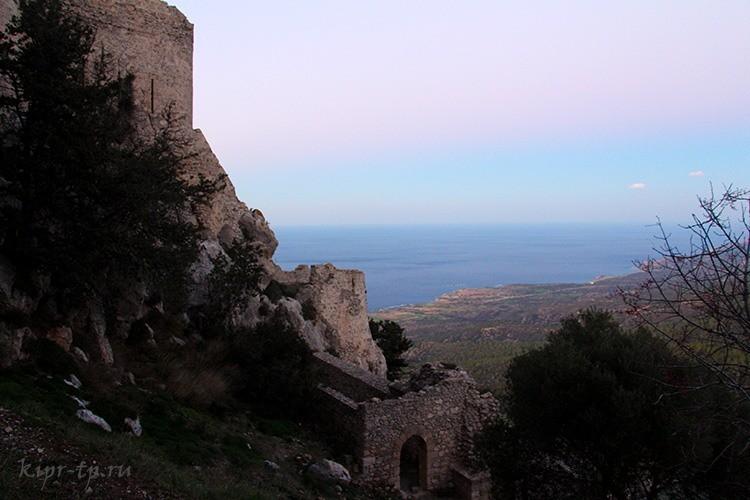 Крепость Кантара, Северный Кипр